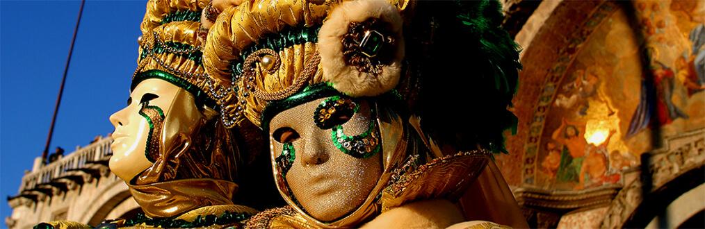 Avocats Picovschi illustre le carnaval de venise